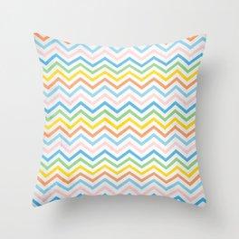 Retro 60 - Second Wave Throw Pillow