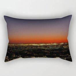 Lightscape One (Sunset) Rectangular Pillow