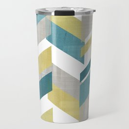 Bright geometrical pattern Travel Mug