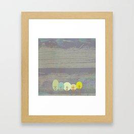 grove of trees Framed Art Print