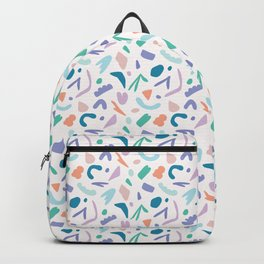 Abstract Cut Out Shapes Backpack