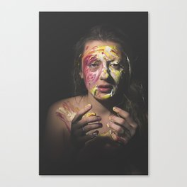 Colors of Women, A.F. Canvas Print
