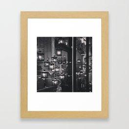 Lights in Bern Framed Art Print