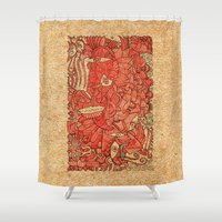 wood Shower Curtains featuring - wood - by Magdalla Del Fresto