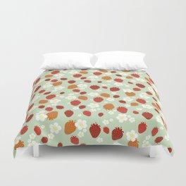 Strawberry Blossom Duvet Cover