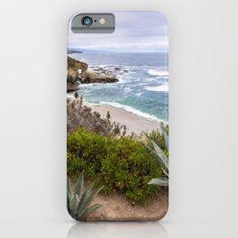 View from cliffs in Laguna Beach, CA iPhone Case