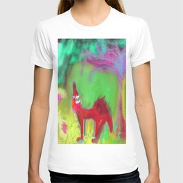 Dog Howling by 'Mickeys Art And Design' T-shirt