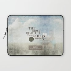 Most Beautiful Thing? Laptop Sleeve