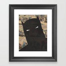 Darkest Knight Framed Art Print