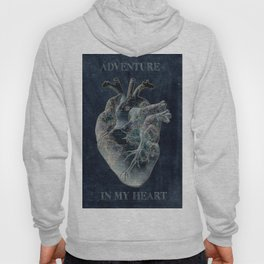 adventure heart-world map 4 Hoody