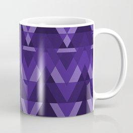 Geometric - Violet Coffee Mug