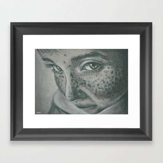 pecas! Framed Art Print