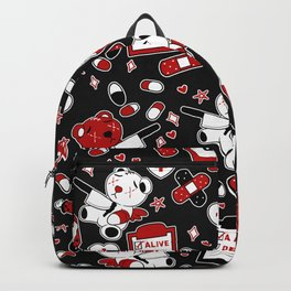 Chronic Illness Creepy Cute Bears Backpack