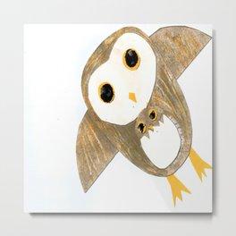 Owl Together Again Metal Print