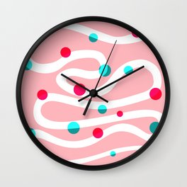Snake n' Dots Wall Clock