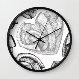 Pure Love Wall Clock