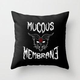 Mucous Membrane Throw Pillow