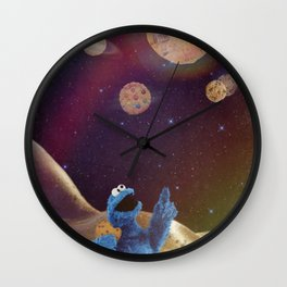 Cookies and pussies Wall Clock