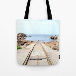 The stranger away Tote Bag