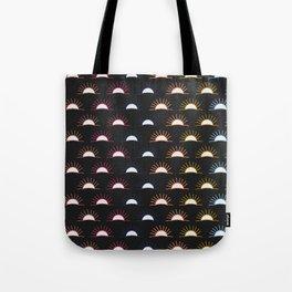 Sunset pattern Tote Bag
