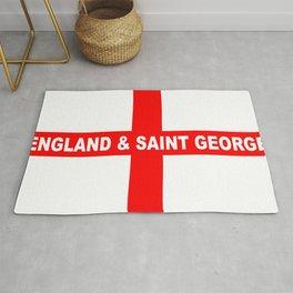 Flag of England and Saint George Rug