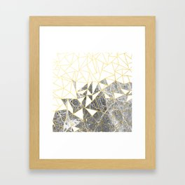 Ab Marb Framed Art Print
