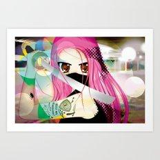 Swordfighter Art Print