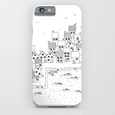 Harbour sketch iPhone 6s Slim Case