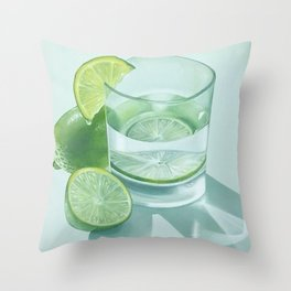 Hydrate Throw Pillow