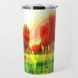 Fiori rossi Travel Mug