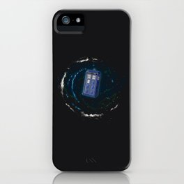 Space and Time and the Universe iPhone Case