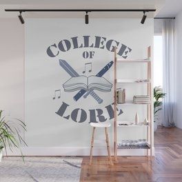 College of Lore Wall Mural