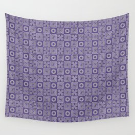 Lines and Shapes - 2018 Pantone COY Wall Tapestry