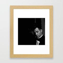 Chris Pine 7 Framed Art Print