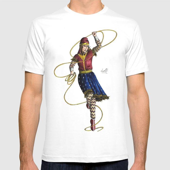Scythian Woman of Wonder T-shirt