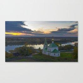 Staraya Ryazan Church of the Transfiguration Shatrishche Ryazan Russia Ultra HD Canvas Print