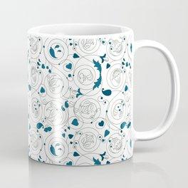Byzantine floral ornament Coffee Mug