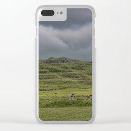 Cox Tor, Dartmoor, Devon Clear iPhone Case