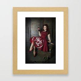 Nuka Pin-up Girl 1 Framed Art Print