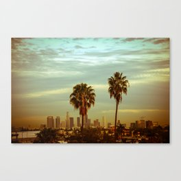 Twin Palms  Canvas Print