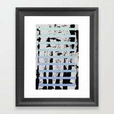 blocks #3 Framed Art Print