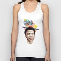 caleb troy Tank Tops featuring Troy by mycolour