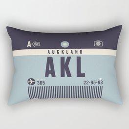 Baggage Tag A - Auckland New Zealand Rectangular Pillow