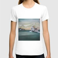 istanbul T-shirts featuring Ferry İstanbul by ArtSchool