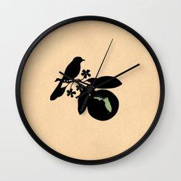 Florida - State Papercut Print Wall Clock