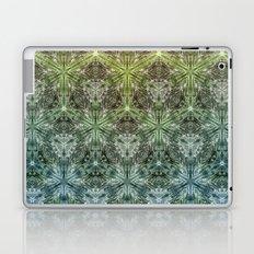 Forest Lake. sacred geometry. seamless pattern Laptop & iPad Skin