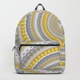 Venetian Inspired Gold Mandala Backpack