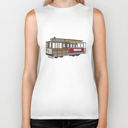 San Francisco Cable Car Biker Tank