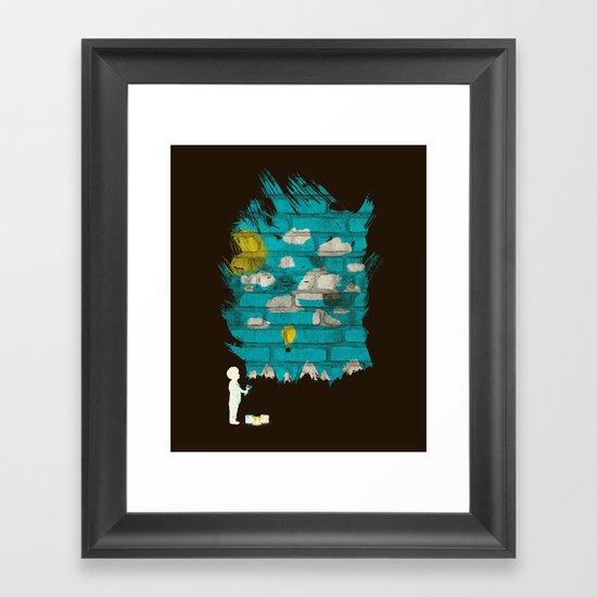 Creating a Dream Framed Art Print
