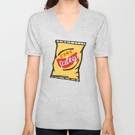 Stay Salty Potato Chips Unisex V-Neck